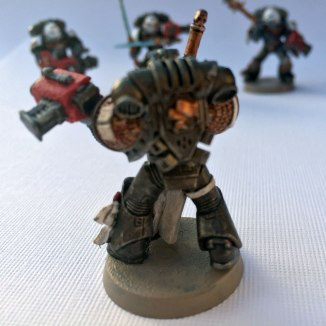 Grey Knights Purifier Captain