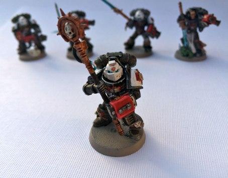 Grey Knights Purifier Chaplain